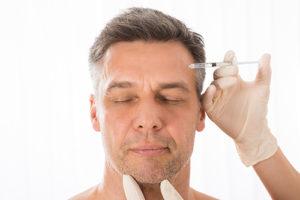 Injection botox homme à Lyon - Docteur Nicolas Gounot